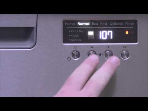 How To Lock & Unlock A DishDrawer™PH9