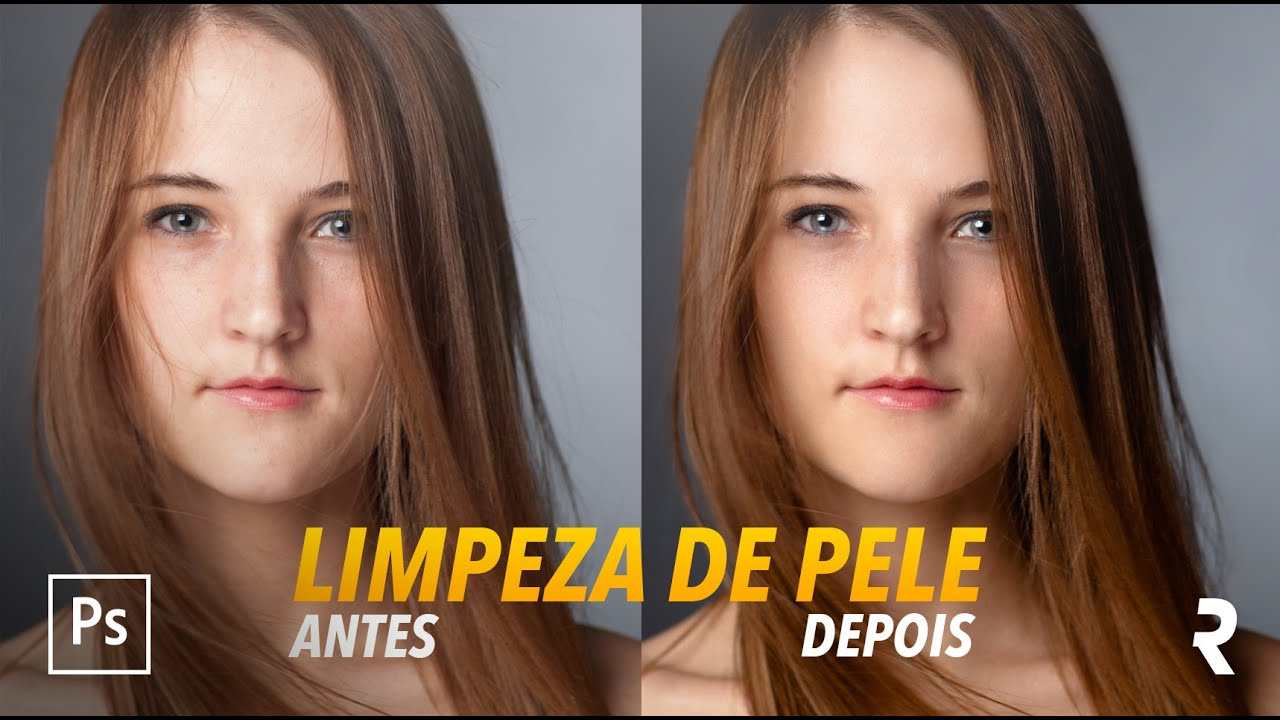 Tutorial Photoshop Limpeza De Pele Skin Retouch Youtube