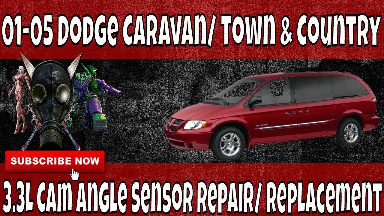 01 05 dodge caravan 3 3l cam angle sensor removal and replacement [ 1280 x 720 Pixel ]