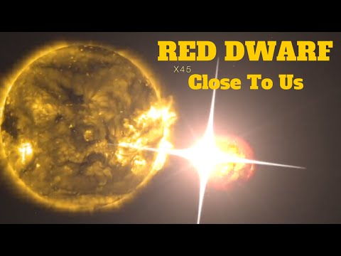 The Universe Documentary - Red Dwarf Star - Found Close To Our Solar System