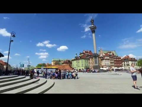 WARSZAWA piękna stolica Polski [4K]