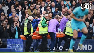 La terrible blessure d'Hugo Lloris contre Brighton
