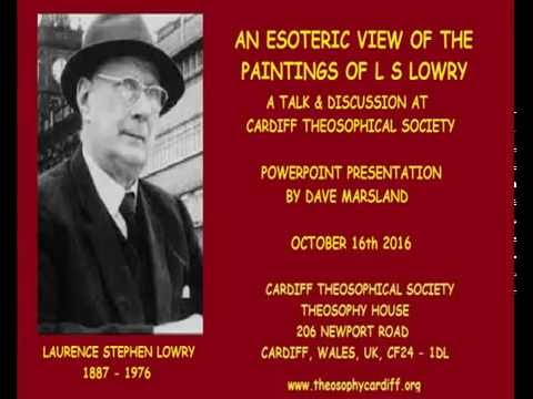 An Esoteric View of the Paintings of L S Lowry