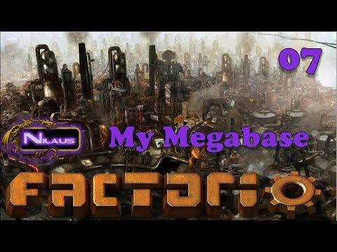 Factorio - My Megabase E07 - Unloading station and Train logic