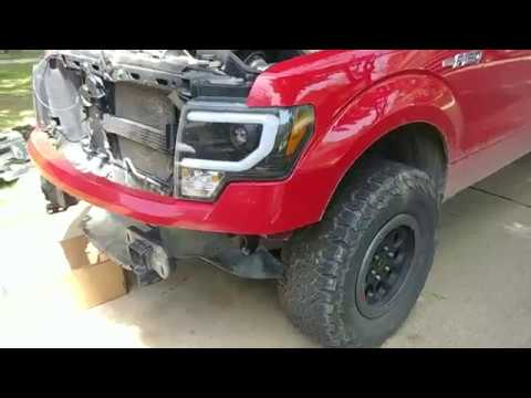 2009 2014 F150 Front Bumper Removal Youtube