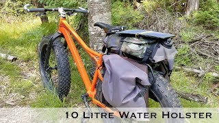 10 Litre Water Reservoir Holster for Bikepacking