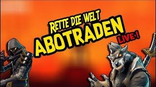 Fortnite RDW- Abotraden/Abocraften live+Missionen road to 165 (mit FreezZ btw)