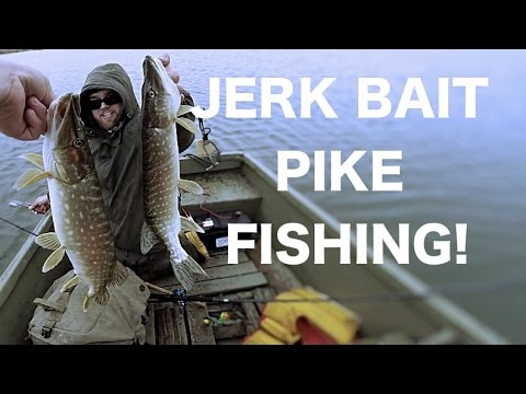 Pike everywhere! part 2 - Jerk bait fishing for Pike