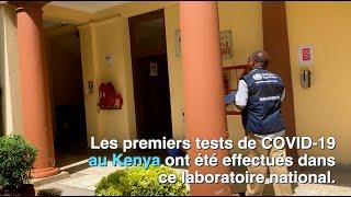 Tester le COVID-19 au Kenya