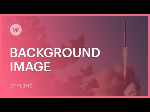 Background images - Webflow CSS tutorial