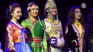 Конкурс самая красивая азиаток (тувинка) в Москве