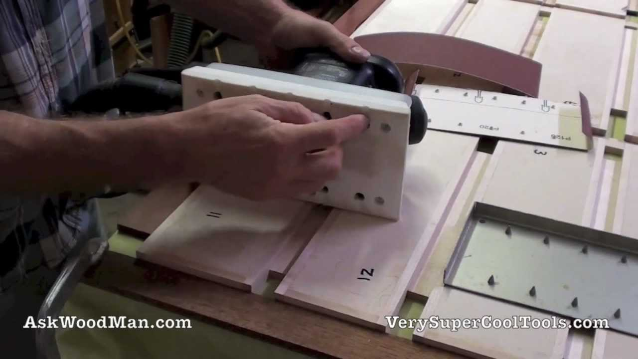 VSM Vitex Sandpaper: Punch Your Own Holes For Dust Collection In Your Half  Sheet Sander