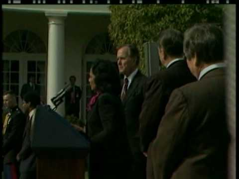 Nov. 2, 1983 MLK holiday signing statement at the White House