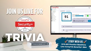 CompTIA Security+ Practice Questions (SY0-601)
