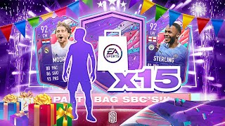 HUGE PULL!!! 15 x PARTY BAG PACKS!!!! FIFA 21