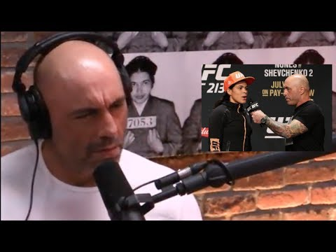 Joe Rogan on Amanda Nunes Pulling Out of UFC 213 From a Sinus Infection