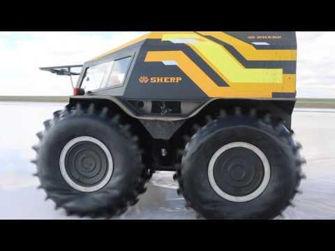SherpTeam - Astrakhan - test drive of SHERP ATV