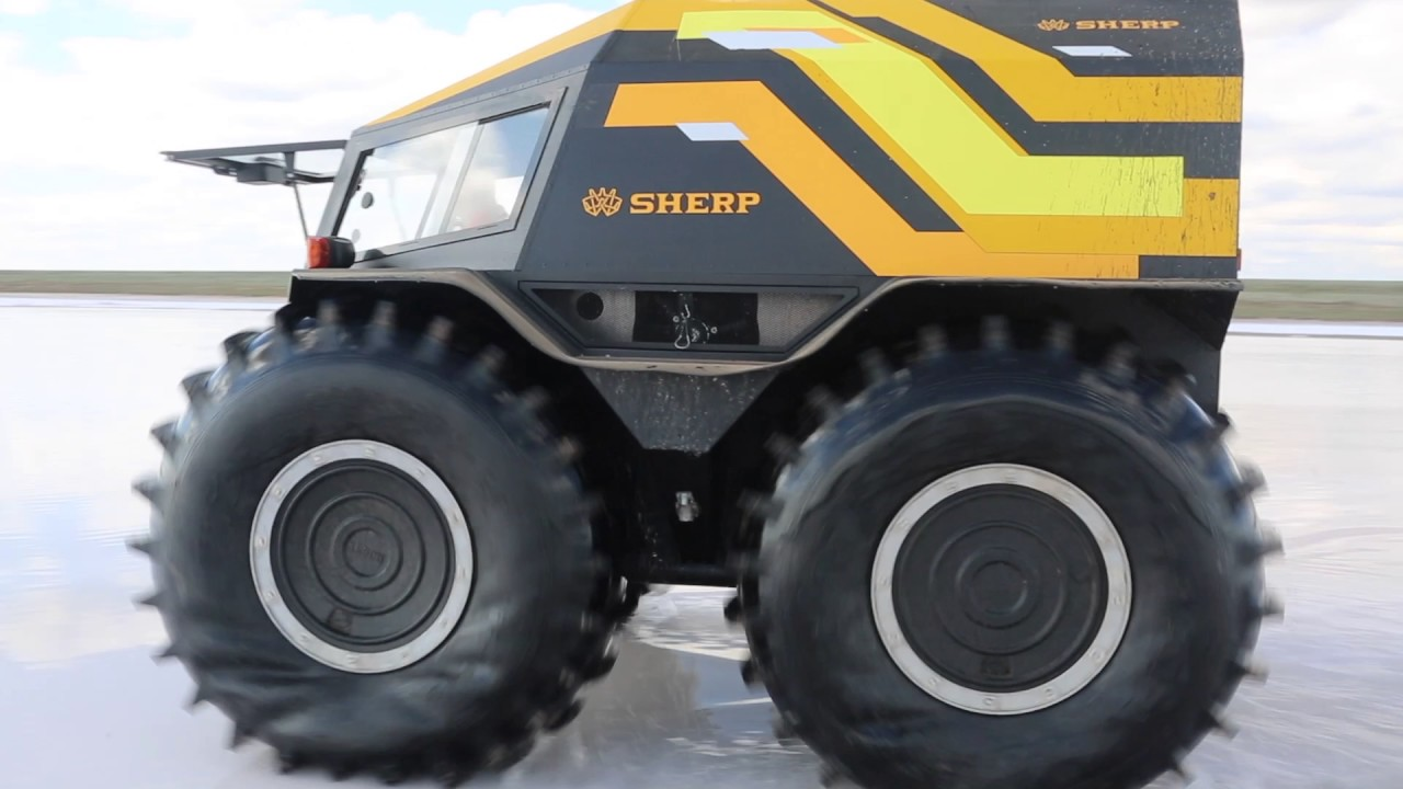 Sherp Atv Price >> SherpTeam - Astrakhan - test drive of SHERP ATV - YouTube