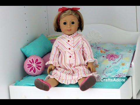American Girl Doll Opening MyAg Dreamy Daybed+bedding ~HD~