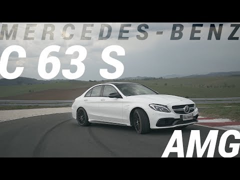 Mercedes-Benz C 63 S AMG - V8 Biturbo, Torcudão, Joga A Fumaça Pro Alto!