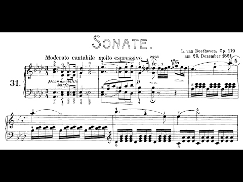 Beethoven: Sonata No.31 in A-flat Major, Op.110 (Lortie, Siirala, Kovacevich)