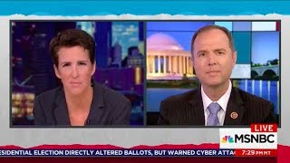 Rep. Schiff Discusses Russian Attack on Our Election Infrastructure on MSNBC