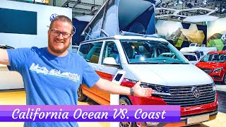 VW T6.1 California OCEAN VS. COAST - What's The Difference?