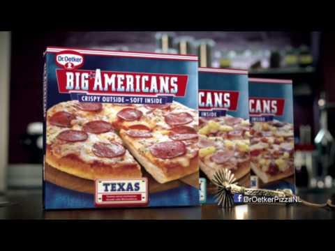 Dr. Oetker Big Americans commercial 2016