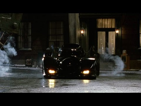 Oswald takes control Batmobile | Batman Returns
