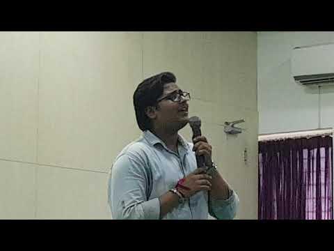 muskurane-ki-wajah-&-musafir-song-live-college-performance-by-sarvesh-shukla