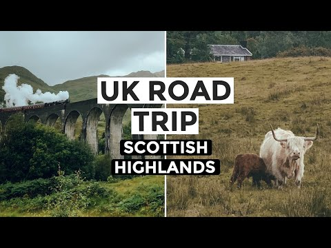 UK ROAD TRIP: SCOTLAND - Hogwarts Express, Highland Cows & Harry Potter Tour in Edinburgh (Part 6)