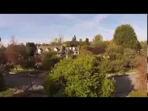 San Marino from the air