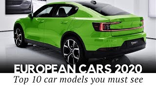 Top 10 New European Cars and Crossovers: Review of the 2020 Models