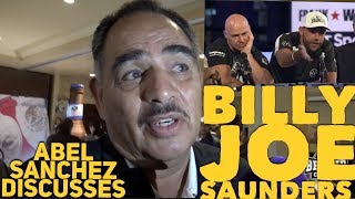 """ABEL SANCHEZ CRITICIZES LEMIEUX/ GIVES CREDIT TO BJ SAUNDERS """"HE'S GONNA BECOME BETTER"""" W/ DOM INGLE"""