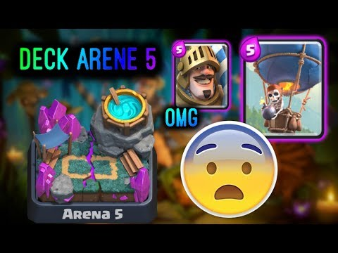 Omg j 39 ai trouv le meilleur deck arene 5 et 6 youtube for Deck arene 5 miroir
