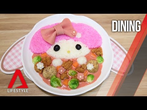 First look (and bite) into My Melody Cafe Singapore   CNA ...