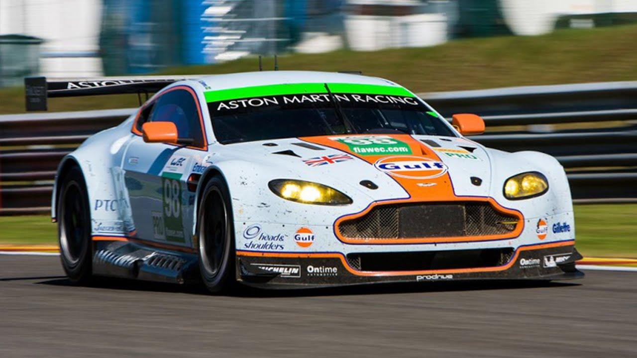 Aston Martin Vantage Gte Loud V8 Sound Hd Youtube