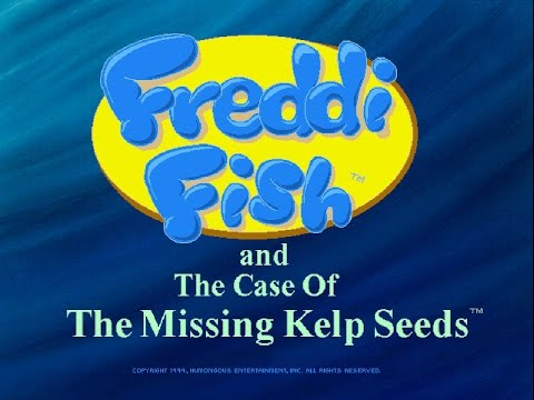 Freddi Fish and The Case of the Missing Kelp Seeds Full Walkthrough