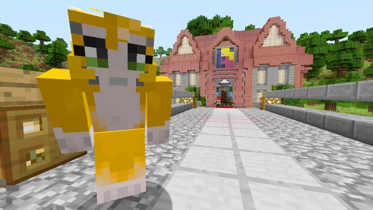 Minecraft Xbox - Mario 64 - Peach\'s Castle {1}