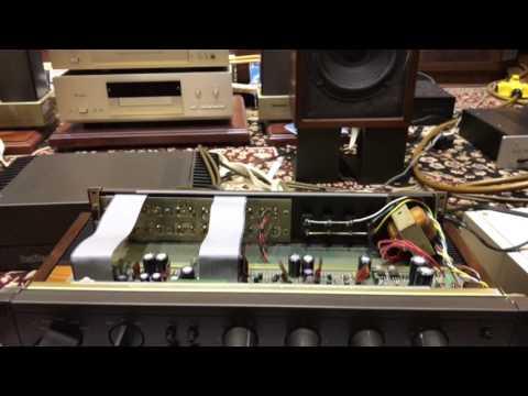 Test 1 đoạn AR4x Va Pre power Hafler Usa