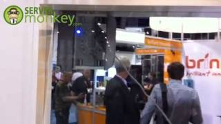 Ecovacs Winbot 7 at CES 2013