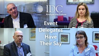 IT End User Feedback: Event Delegates Have Their Say