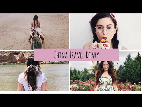 China Travel Diary! | DUNHUANG, GANZU, LINXIA and MORE!