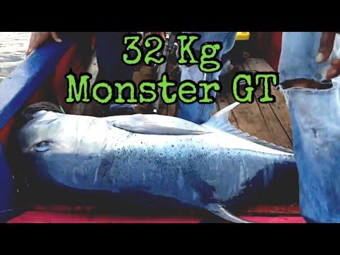 Jigging Aceh GT 32 Kg
