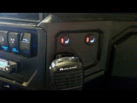 General David Lee - UTV Heated Seat Install