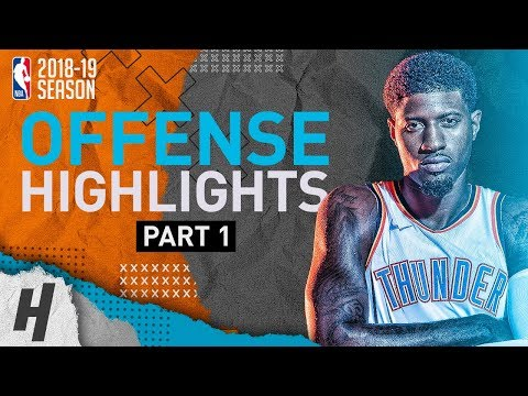 Paul George BEST Offense Highlights from 2018-19 NBA Season! Defense Included (Part 1)