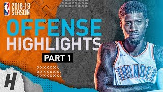 Check out the best highlights by Paul George from the Oklahoma CIty...
