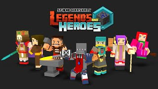 Legends And Heroes - Minecraft comic book animation