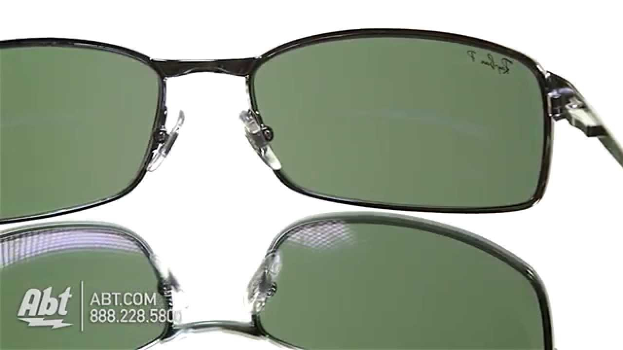 3a3a9bb7a23 Ray-Ban Mens Sunglasses RB3269 Overview - YouTube