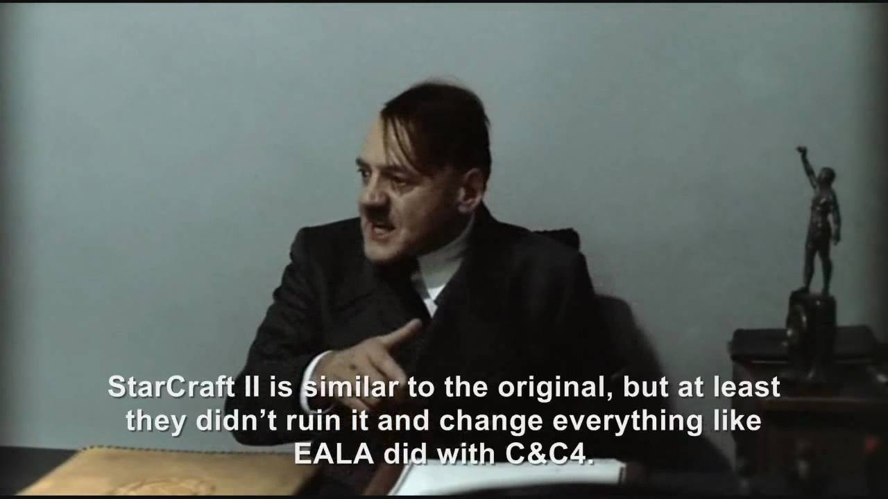 Hitler Reviews: StarCraft II Wings of Liberty